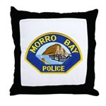 Morro Bay Police Throw Pillow