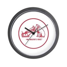 Nipper Victrola Wall Clock