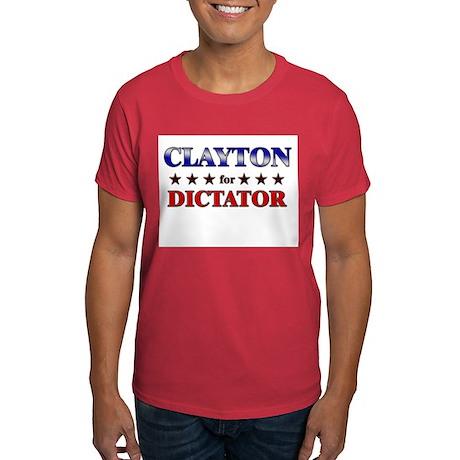 CLAYTON for dictator Dark T-Shirt