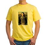 Mona / Irish Wolf Yellow T-Shirt