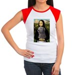 Mona / Irish Wolf Women's Cap Sleeve T-Shirt