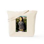Mona / Irish Wolf Tote Bag