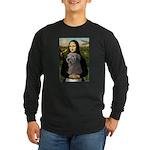 Mona / Irish Wolf Long Sleeve Dark T-Shirt