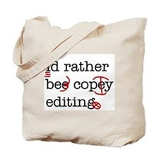 Cute Copyediting Tote Bag
