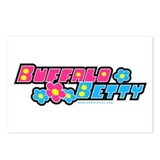 BUFFALO BETTY Postcards (Package of 8)