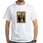 Mona / Irish Wolf White T-Shirt
