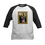 Mona / Irish Wolf Kids Baseball Jersey
