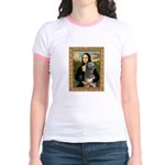 Mona / Irish Wolf Jr. Ringer T-Shirt