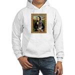 Mona / Irish Wolf Hooded Sweatshirt