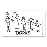 Stick Figure Family Decal