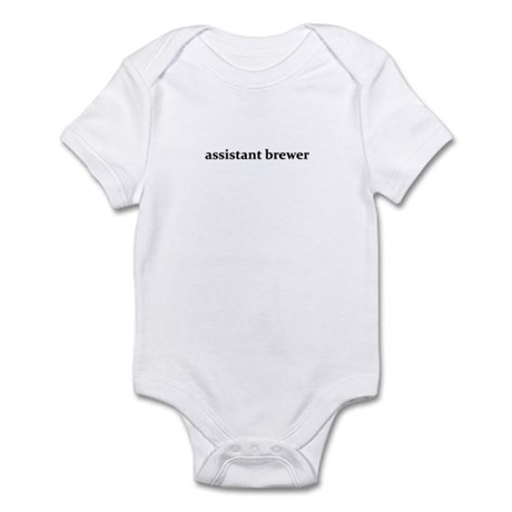 assistant brewer - Infant Bodysuit