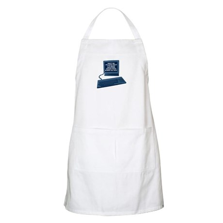 Don't be jealous... BBQ Apron