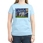 Starry / Keeshond Women's Light T-Shirt