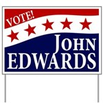 Vote John Edwards Yard Sign