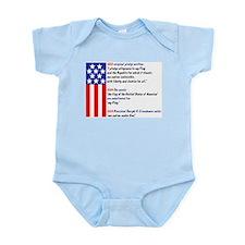 History of the pledge Infant Creeper