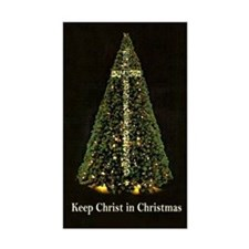 KEEP CHRIST IN CHRISTMAS - Decal