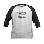 Camel Lover Kids Baseball Jersey