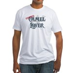 Camel Lover Fitted T-Shirt