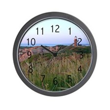 Lighthouse Sunset Wall Clock