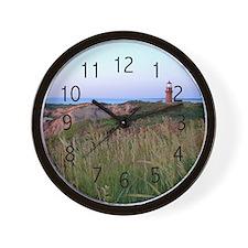 Lighthouse Sunset Wall Clock