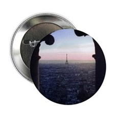 "Paris Sunset 2.25"" Button (100 pack)"