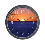 Aquinnah Sunset Wall Clock