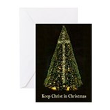KEEP CHRIST IN CHRISTMAS - Greeting Cards