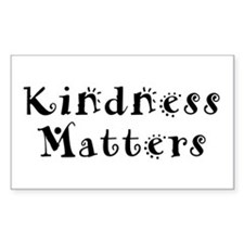 KINDNESS MATTERS Rectangle Decal
