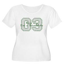 Kiss me I'm a triathlete T-Shirt