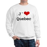 J' [heart] Quebec Jumper