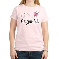 Cute Organist Women's Light T-Shirt