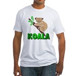 Koala Fitted T-Shirt