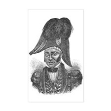 Emperor Jacques I of Haiti Rectangle Decal