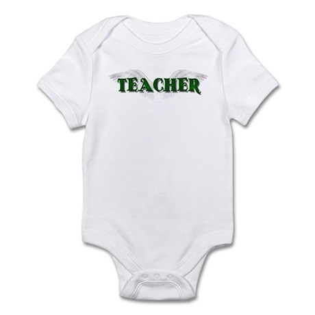 Angel Wings Teacher Infant Bodysuit
