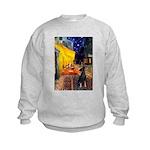 Cafe /Min Pinsche Kids Sweatshirt