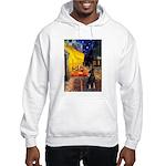 Cafe /Min Pinsche Hooded Sweatshirt