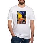 Cafe /Min Pinsche Fitted T-Shirt
