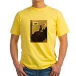 Whistler's / Min Pin Yellow T-Shirt