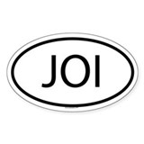 JOI Oval Decal