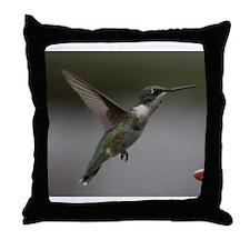 Hummingbird Pillows Throw Pillow
