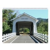 Oregon Covered Bridges Wall Calendar