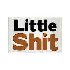 Little Shit Rectangle Magnet (10 pack)
