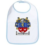 McLaughlin Coat of Arms Bib