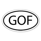 GOF Oval Decal