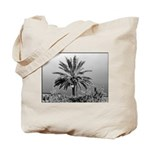 Chrome Palm Tree Tote Bag