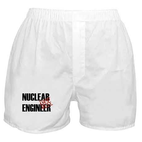 Off Duty Nuclear Engineer Boxer Shorts