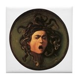 Caravaggio's Medusa Tile Coaster