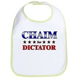 CHAIM for dictator Bib