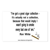 Ron White Cigar Postcards (Package of 8)