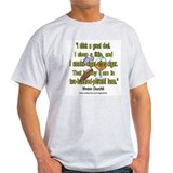 Winston Churchill Cigar Quote T-Shirt